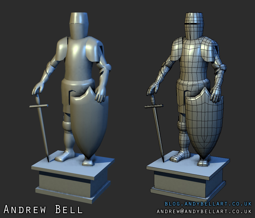 Suit of Armour WIP